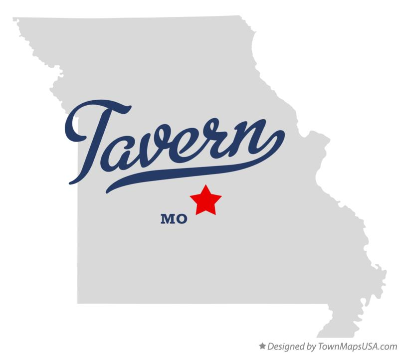 Map of Tavern Missouri MO