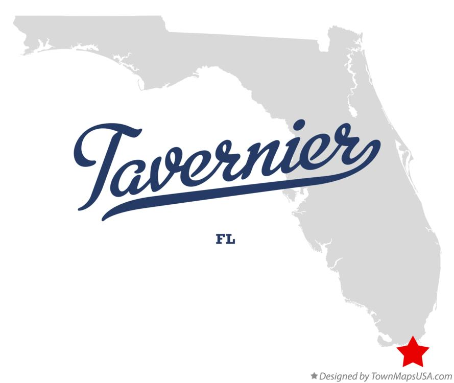 Map of Tavernier Florida FL