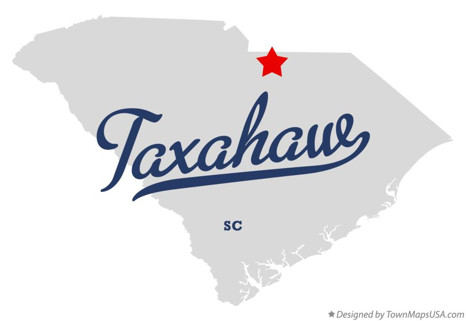 Map of Taxahaw South Carolina SC