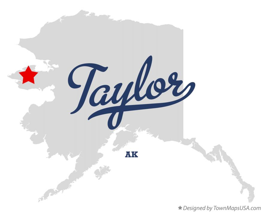 Map of Taylor Alaska AK
