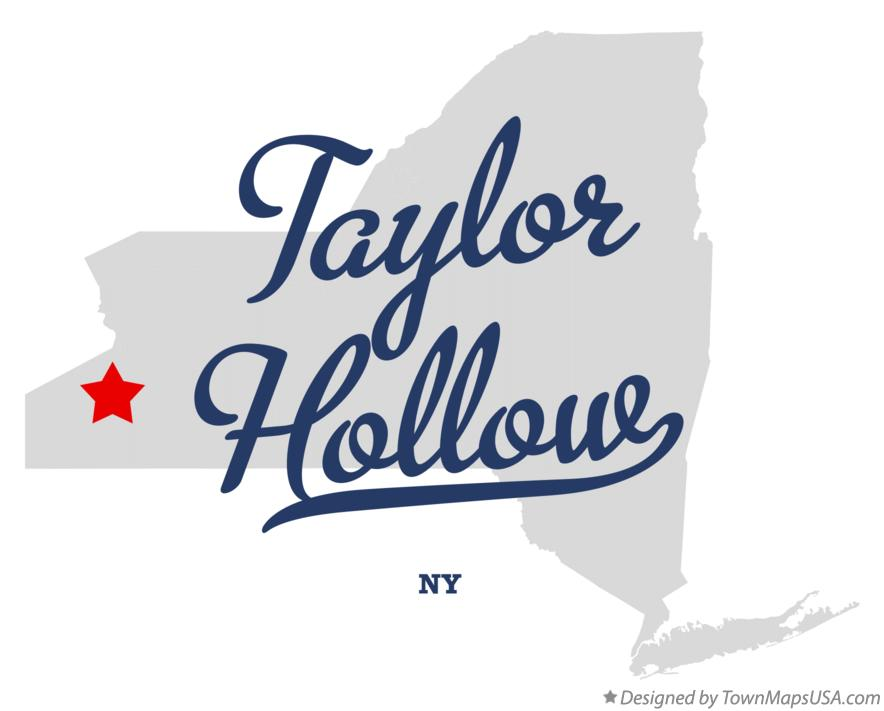 Map of Taylor Hollow New York NY