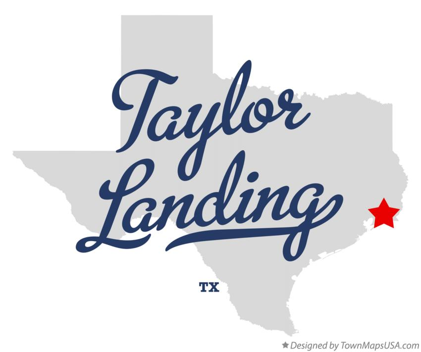 Map of Taylor Landing Texas TX