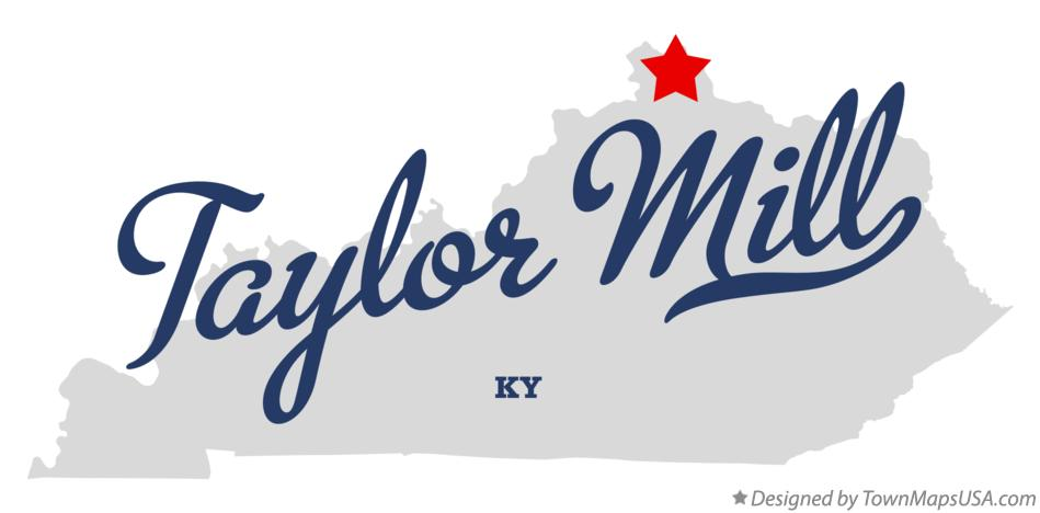Map of Taylor Mill Kentucky KY