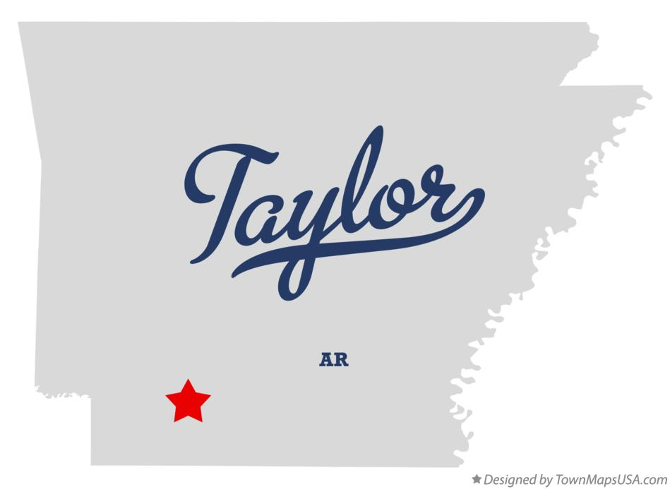 Map of Taylor Arkansas AR