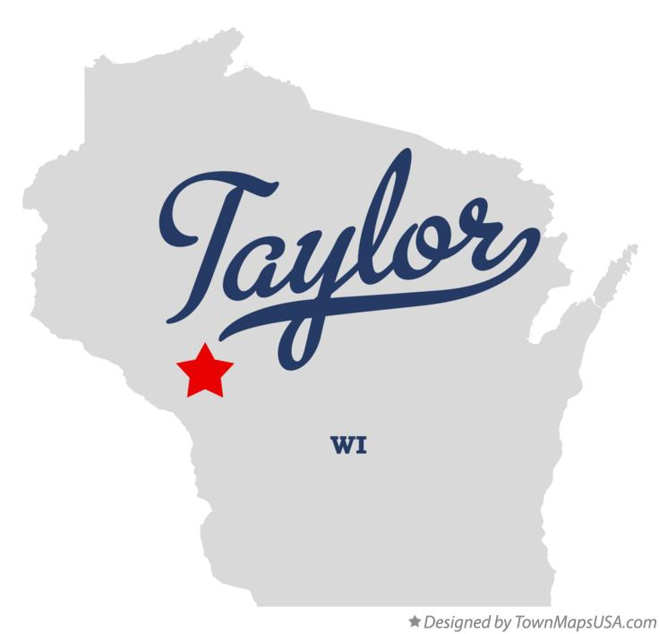 Map of Taylor Wisconsin WI