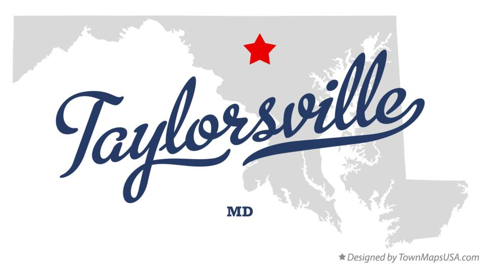 Map of Taylorsville Maryland MD