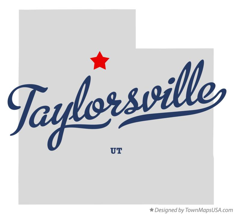 Map of Taylorsville Utah UT