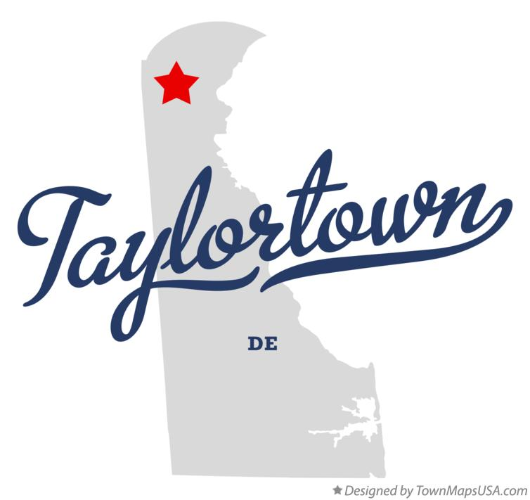 Map of Taylortown Delaware DE