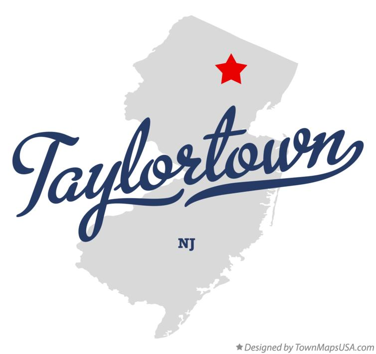 Map of Taylortown New Jersey NJ