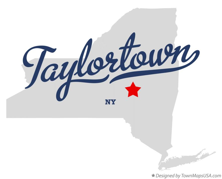 Map of Taylortown New York NY