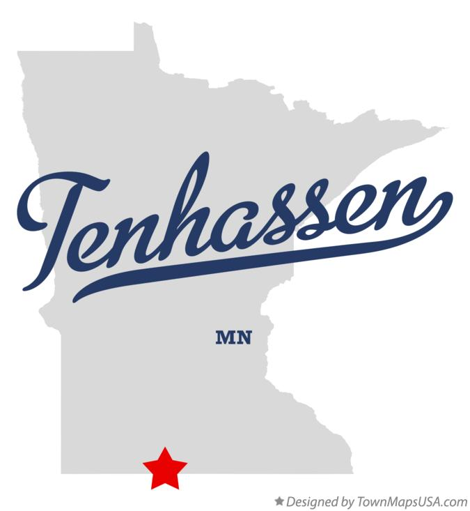 Map of Tenhassen Minnesota MN