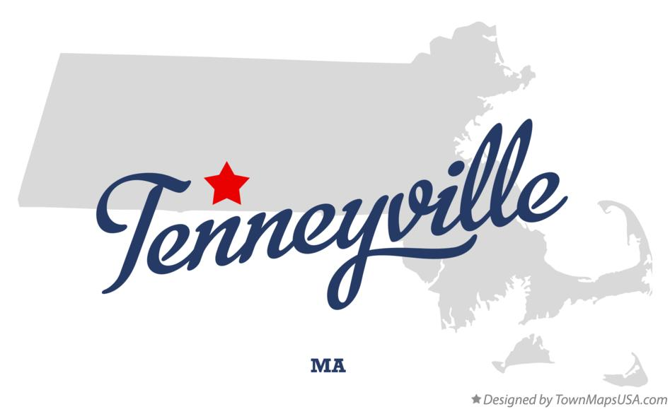Map of Tenneyville Massachusetts MA