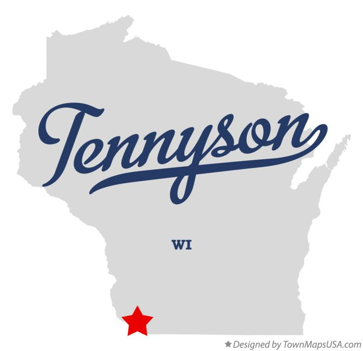 Map of Tennyson Wisconsin WI