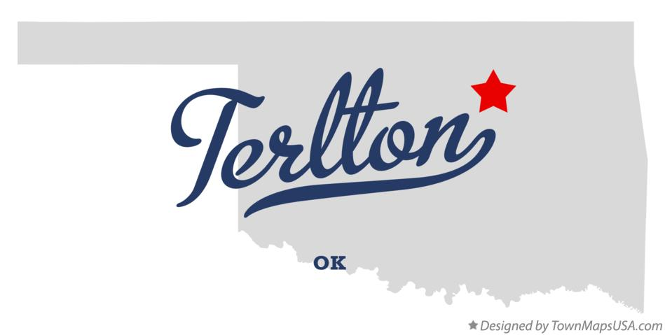 Map of Terlton Oklahoma OK