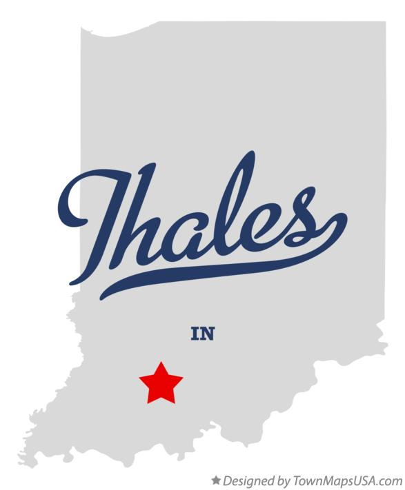 Map of Thales Indiana IN