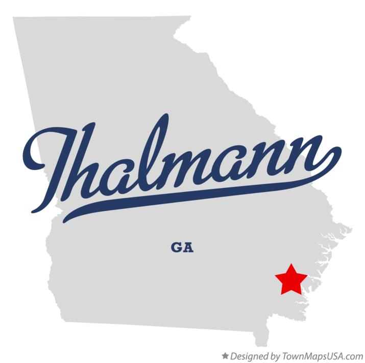 Map of Thalmann Georgia GA