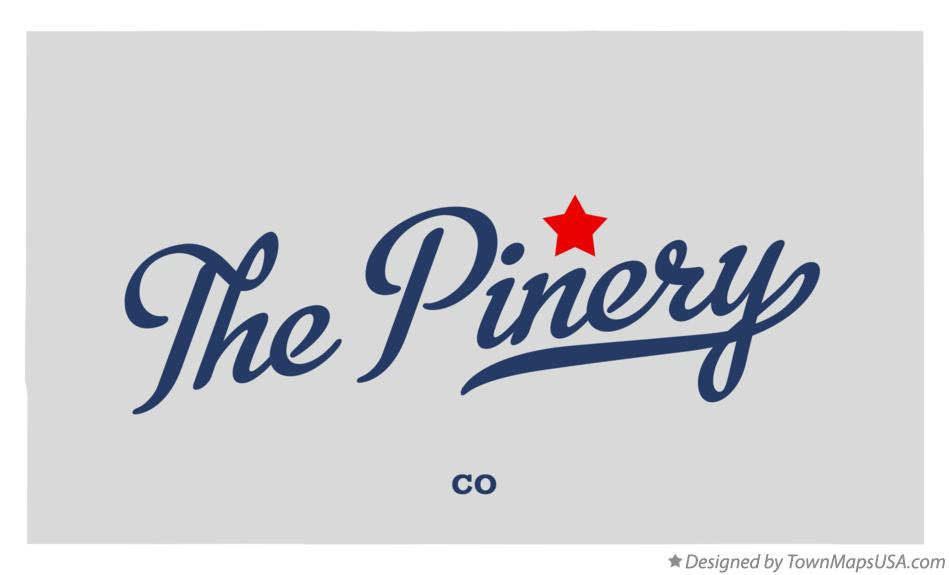 Map of The Pinery Colorado CO