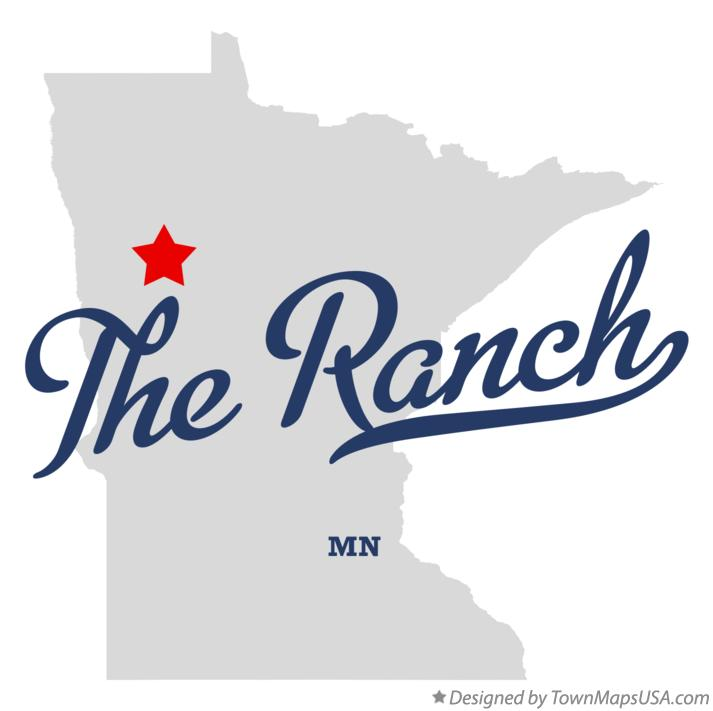 Map of The Ranch Minnesota MN