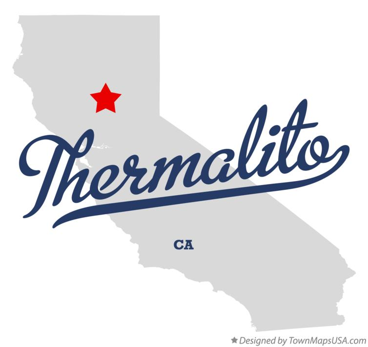 Map of Thermalito California CA
