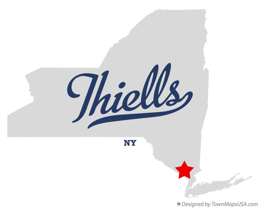 Map of Thiells New York NY