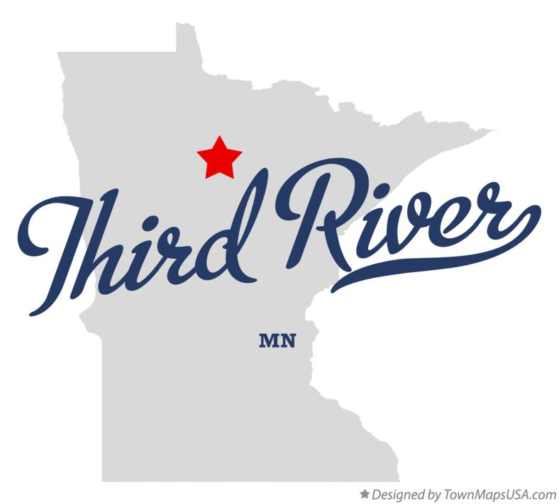 Map of Third River Minnesota MN