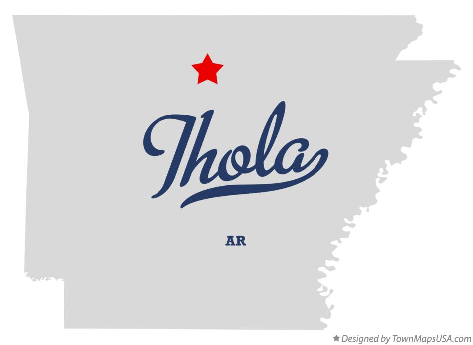 Map of Thola Arkansas AR