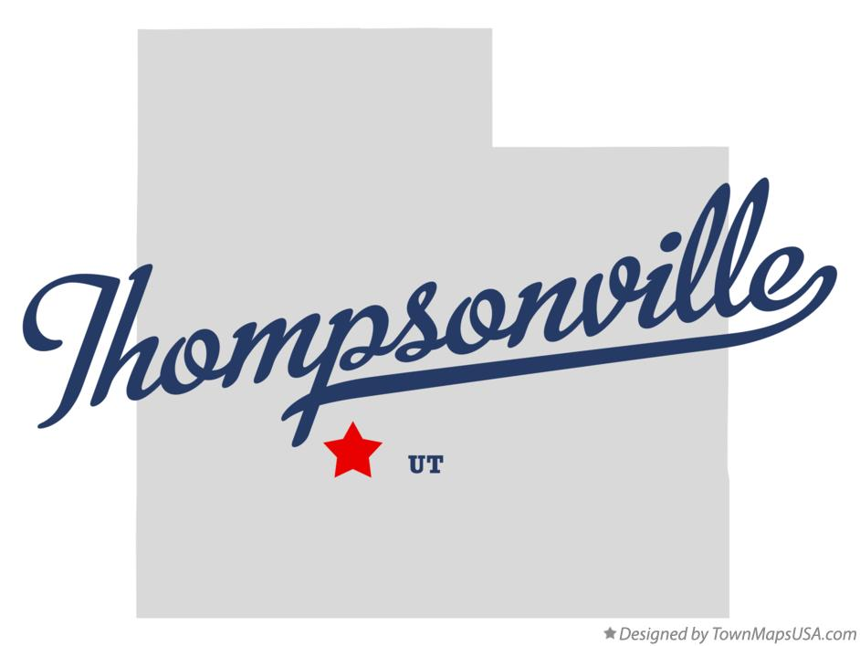 Map of Thompsonville Utah UT