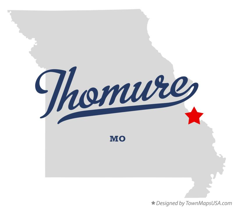 Map of Thomure Missouri MO