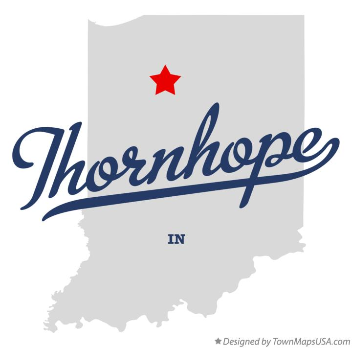 Map of Thornhope Indiana IN
