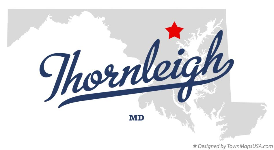 Map of Thornleigh Maryland MD