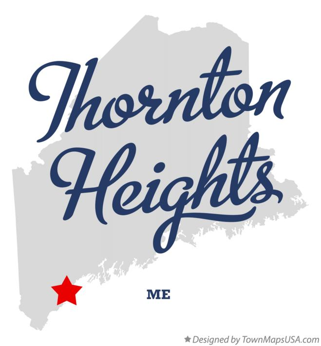 Map of Thornton Heights Maine ME