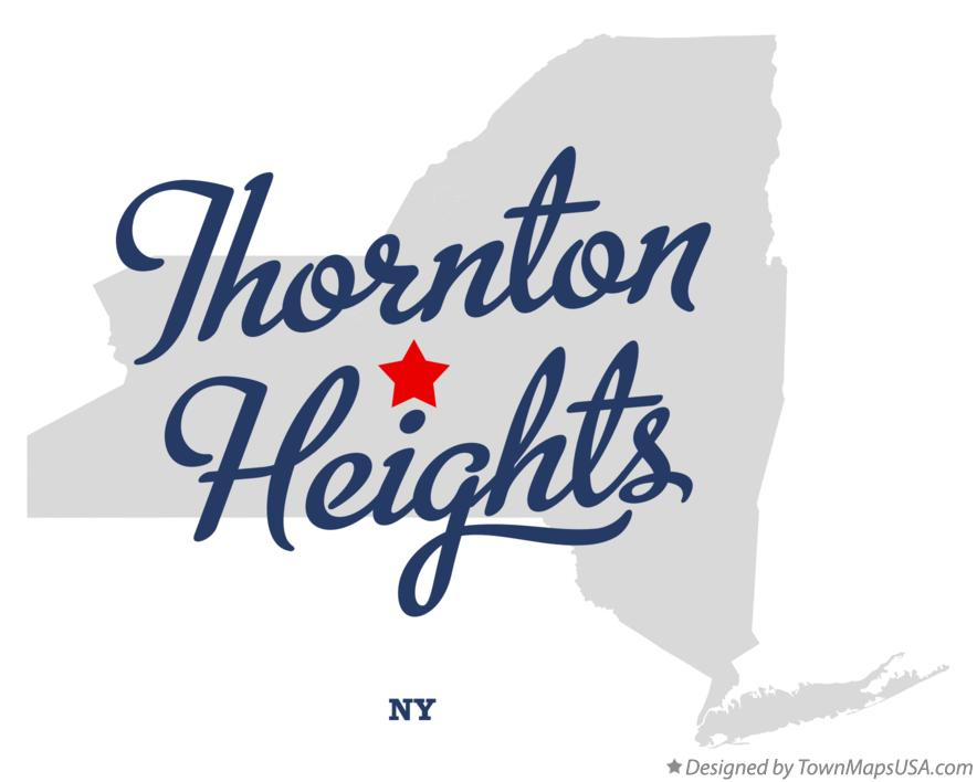 Map of Thornton Heights New York NY