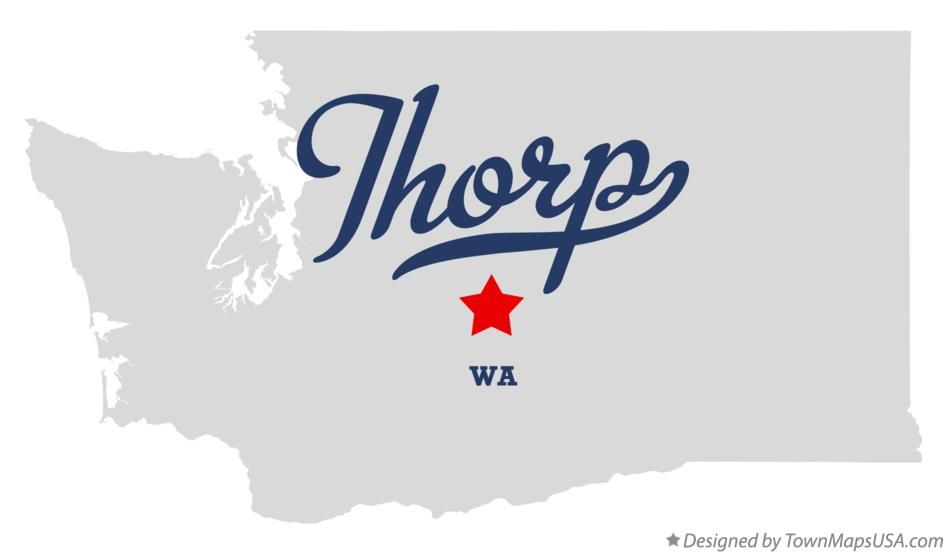 Map of Thorp Washington WA