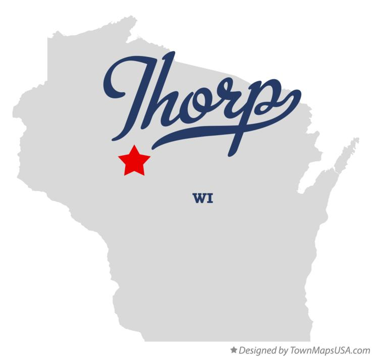 Map of Thorp Wisconsin WI