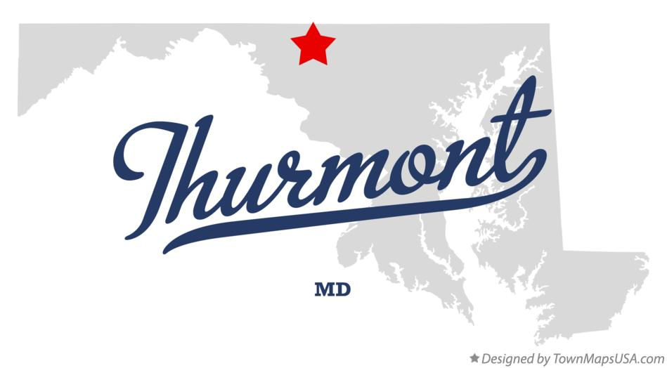 Map of Thurmont Maryland MD