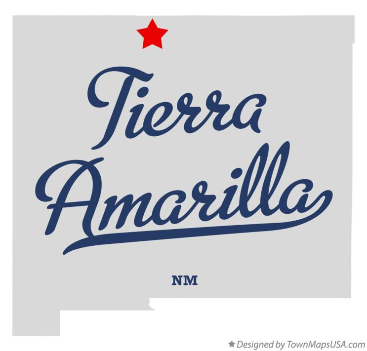 Map of Tierra Amarilla New Mexico NM