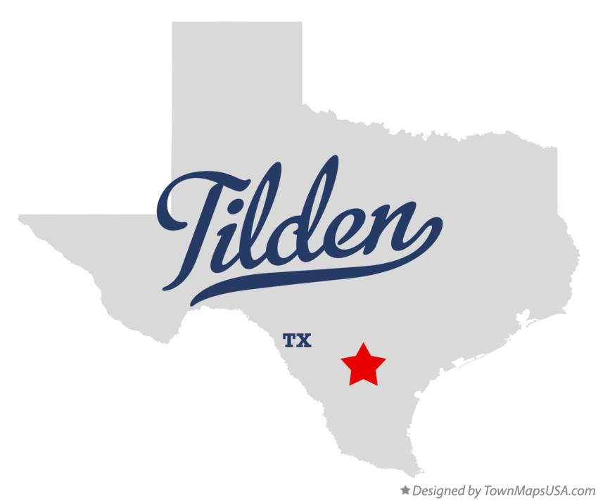 Map of tilden tx texas map of tilden texas tx publicscrutiny Choice Image