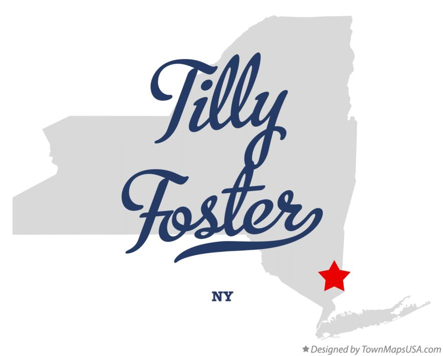 Map of Tilly Foster New York NY