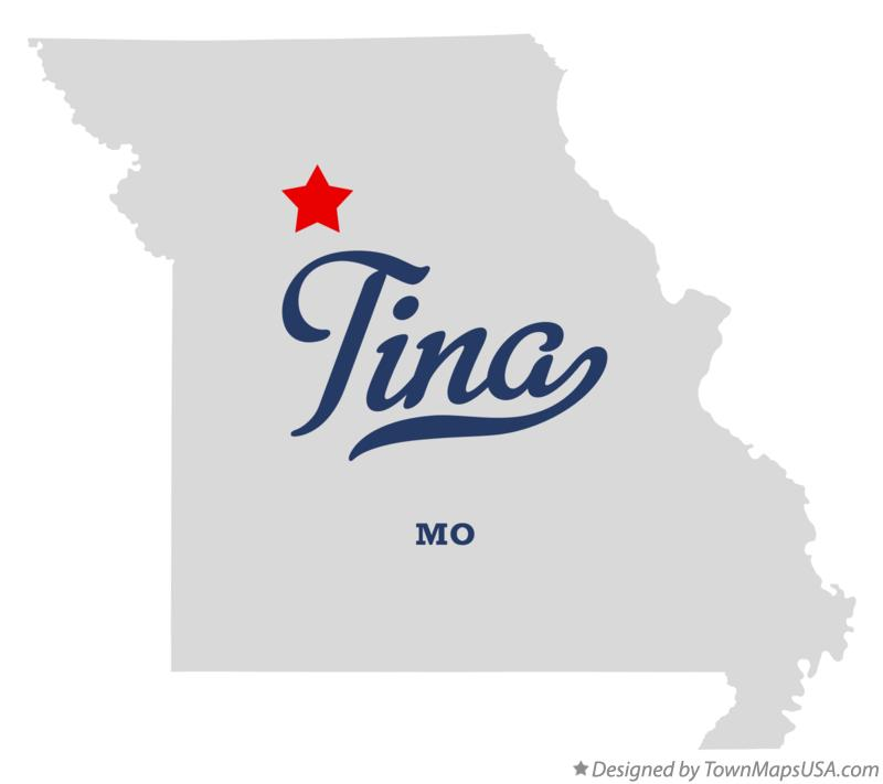 Map of Tina Missouri MO