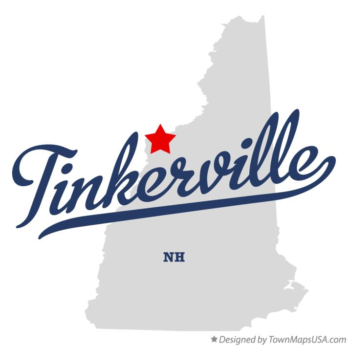 Map of Tinkerville New Hampshire NH