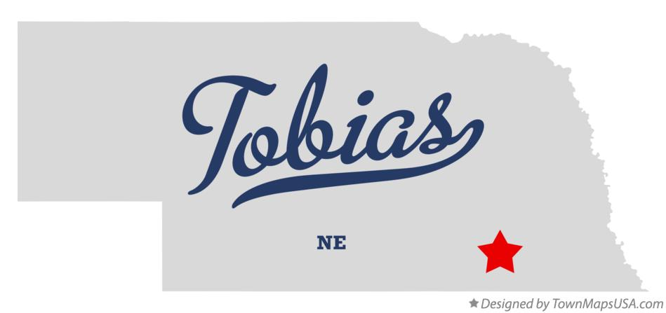 Map of Tobias Nebraska NE