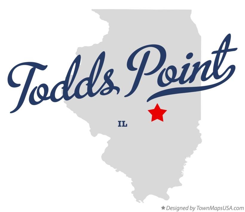 Map of Todds Point Illinois IL