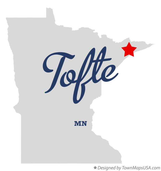 Map of Tofte Minnesota MN