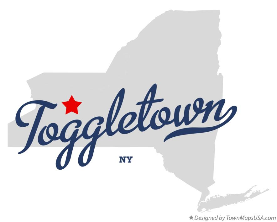 Map of Toggletown New York NY