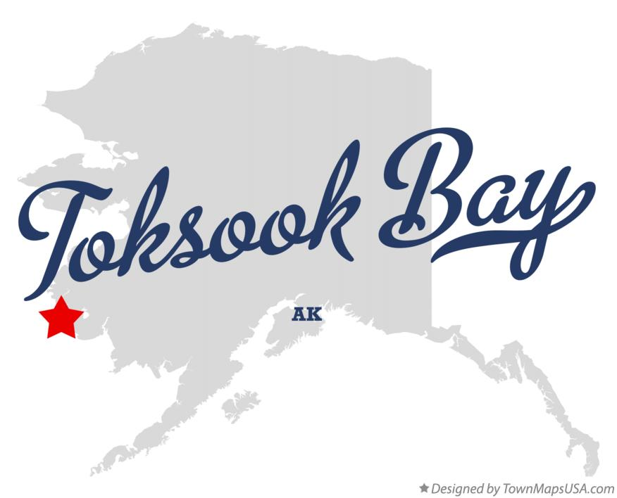 Map of Toksook Bay Alaska AK