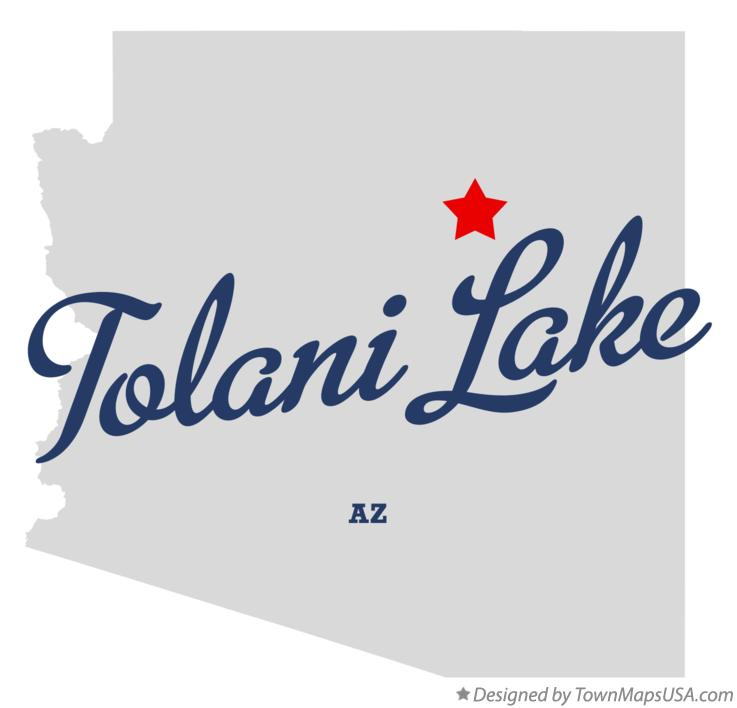 Map of Tolani Lake Arizona AZ