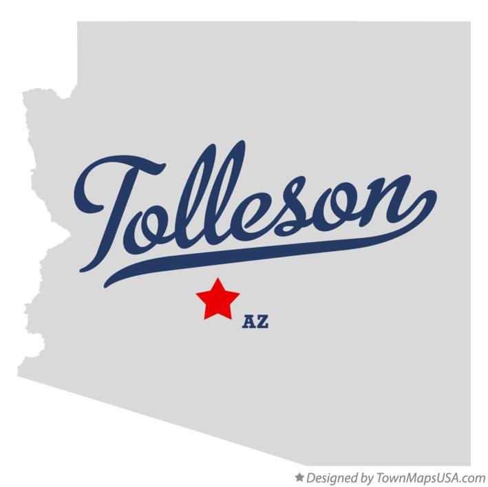 Map of Tolleson Arizona AZ