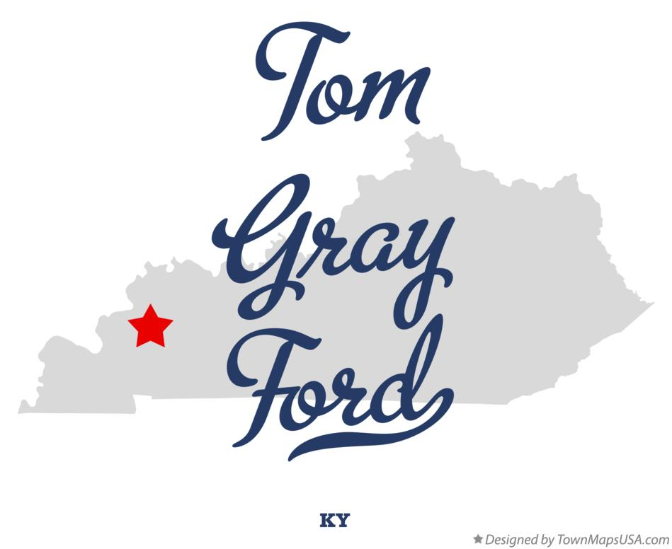 Map of Tom Gray Ford Kentucky KY