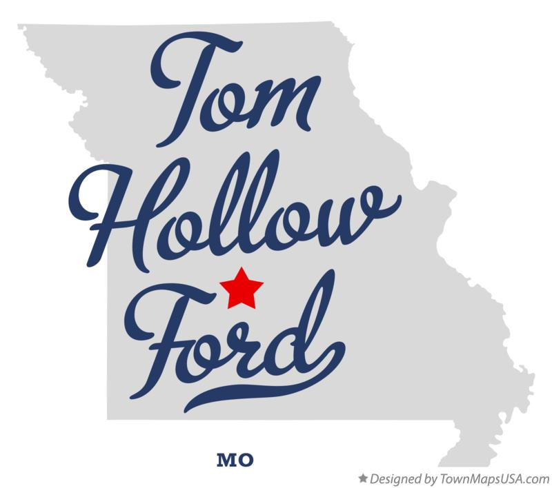 Map of Tom Hollow Ford Missouri MO