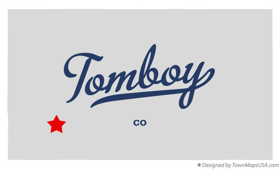 Map of Tomboy Colorado CO